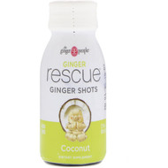 3 PACK OF The Ginger People, Ginger Rescue Shots, Coconut, 2 fl oz (60 ml)