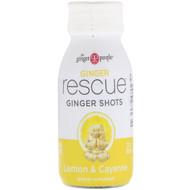3 PACK OF The Ginger People, Ginger Rescue Shots, Lemon & Cayenne, 2 fl oz (60 ml)