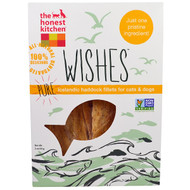3 PACK OF The Honest Kitchen, Wishes, Pure Icelandic Haddock Fillets for Cats & Dogs, 2 oz (56 g)