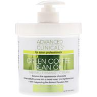 Advanced Clinicals, Green Coffee Bean Oil, Thermo-Firming Cream, 16 oz (454 g)
