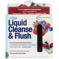 appliednutrition, 5 Day Liquid Cleanse & Flush, Mixed Berry, 10 Liquid-Tubes, 10 ml Each