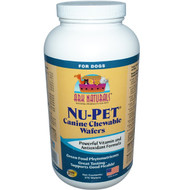 Ark Naturals, Nu-Pet, Canine Chewable Wafers, For Dogs, 270 Wafers