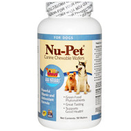 Ark Naturals, Nu-Pet, Canine Chewable Wafers, For Dogs, 90 Wafers