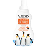 ATTITUDE, Concentrated Laundry Detergent, Citrus Zest, 70 Loads, 35.5 fl oz (1.05 l)