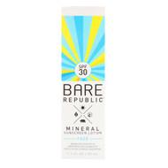 Bare Republic, Mineral Sunscreen Lotion, Face, SPF 30, 1.7 fl oz (50 ml)
