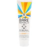 Bare Republic, Mineral Sunscreen Lotion, Sport, SPF 50, 5 fl oz (148 ml)
