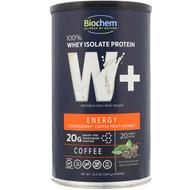 Biochem Sports 100% Whey Isolate Protein W+ Energy -- 10.4 oz