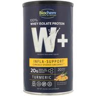 Biochem, 100% Whey Isolate Protein, W+ Infla-Support, Turmeric, 10.6 oz (301 g)