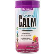 Bluebonnet Nutrition, Simply Calm Powder, Raspberry Lemon Flavor, 16 oz (454 g)