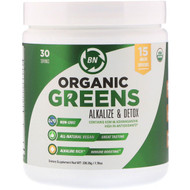 BN LABS, Organic Greens, Alkalize & Detox, 7.70 oz (220.35 g)