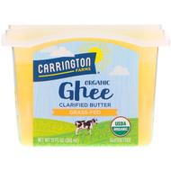 Carrington Farms Organic Ghee Clarified Butter Grass Fed -- 12 fl oz