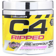 Cellucor, C4 Ripped Pre-Workout, Berry Brainiacs, 6.3 oz (180 g)