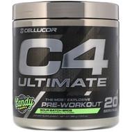 Cellucor, C4 Ultimate, Pre-Workout, Sour Batch Bros, 13.8 oz (390 g)
