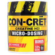 Con-Cret, Creatine HCl, Micro-Dosing, Fruit Punch, 2.47 oz (70 g)