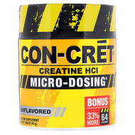 Con-Cret, Creatine HCl, Micro-Dosing, Unflavored, 1.69 oz (48 g)