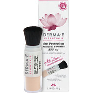 Derma E, Essentials, Sun Protection Mineral Powder, SPF 30, 0.14 oz (4.0 g)