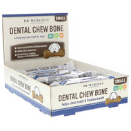 Dr. Mercola, Dental Chew Bone, Small, For Dogs, 12 Bones, 0.77 oz (22 g) Each