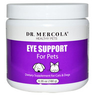 Dr. Mercola, Eye Support For Pets, 6.35 oz (180 g)