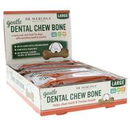 Dr. Mercola, Gentle Dental Chew Bone, Large, For Dogs, 12 Bones, 1.97 oz (56 g) Each