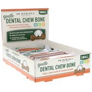 Dr. Mercola, Gentle Dental Chew Bone, Small, For Dogs, 12 Bones, 0.67 oz (19 g) Each