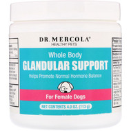 Dr. Mercola Pet Glandular Support For Female Cats & Dogs -- 4 oz
