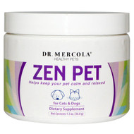 Dr. Mercola, Healthy Pets, Zen Pet, for Cats & Dogs, 1.3 oz (36.8 g)