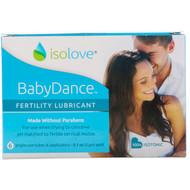 Fairhaven Health, Isolove, BabyDance Fertility Lubricant, 6 Single-Use Tubes & Applicators, 0.1 oz (3 g) Each