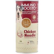 Fidobiotics, Immuno Boosto, Immune Support Supplement, Chicken Noodle, 20 Billion CFU, 5 Powder Stick Packs, (4 g) Each