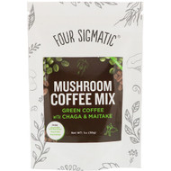 Four Sigmatic, Mushroom Coffee Mix, Green Coffee, 1 oz (30 g)
