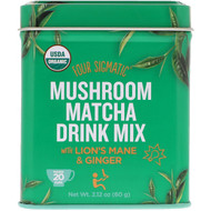 Four Sigmatic, Mushroom Matcha Drink Mix, 2.12 oz (60 g)