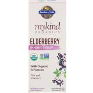Garden of Life, MyKind Organics, Elderberry Immune Syrup, 6.5 fl oz (195 ml)