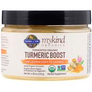 Garden of Life, MyKind Organics, Fermented Organic Turmeric Boost, Inflammatory Response, 4.76 oz (135 g)