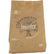 Grab Green, Stoneworks, Laundry Detergent Pods, Oak Tree, 50 Loads, 1.65 lbs (750 g)