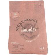 Grab Green, Stoneworks, Laundry Detergent Pods, Rose Petal, 50 Loads, 1.65 lbs (750 g)