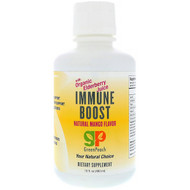 GreenPeach, Immune Boost, Natural Mango Flavor, 16 fl oz (480 ml)