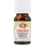 Healing Solutions, 100% Pure Essential Oil, Sandalwood, 0.33 fl oz (10 ml)