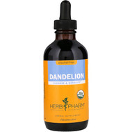 Herb Pharm, Dandelion, Alcohol-Free, 4 fl oz (120 ml)