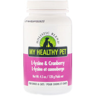 Holistic Blend, My Healthy Pet, L-lysine & Cranberry, For Dogs & Cats, 4.5 oz (128 g)