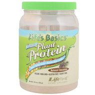 LifeTime Vitamins, Lifes Basics, Organic Plant Protein, Natural Chocolate, 19.6 oz (556 g)