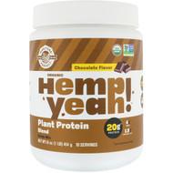 Manitoba Harvest Hemp Yeah! Plant Protein Blend Chocolate -- 1 lb