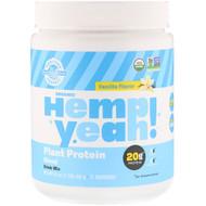 Manitoba Harvest Hemp Yeah! Plant Protein Blend Vanilla -- 1 lb