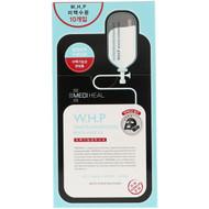 Mediheal, W.H.P. White Hydrating Black Mask EX, 10 Sheets, 25 ml Each