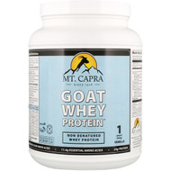 Mt. Capra, Goat Whey Protein, Vanilla, 1 Pound (453 g)