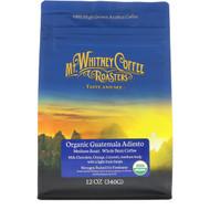 Mt. Whitney Coffee Roasters, Organic Guatemala Adiesto, Medium Roast, Whole Bean Coffee, 12 oz (340 g)