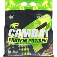 MusclePharm, Combat Protein Powder, Chocolate Milk, 8 lbs (3629 g)
