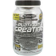 Muscletech, Essential Series, Platinum 100% Micronized Creatine, Unflavored, 3.31 lbs (1.50