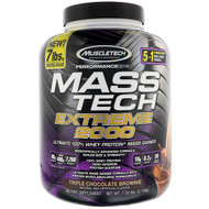 Muscletech, Mass Tech Extreme 2000, Triple Chocolate Brownie, 7.00 lb (3.18