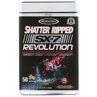 Muscletech, Shatter Ripped SX-7 Revolution Ultimate Pre-Workout, Blueberry Lemonade, 10.02 oz (284 g)