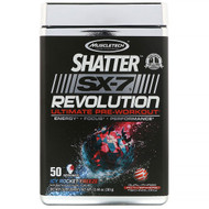 Muscletech, Shatter SX-7 Revolution Ultimate Pre-Workout, Icy Rocket Freeze, 13.44 oz (381 g)