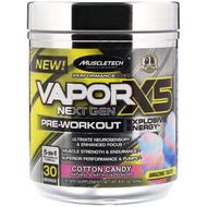 Muscletech, Vapor X5 Next Gen Pre-Workout, Cotton Candy, 8.61 oz (244 g)